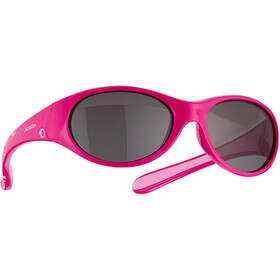 Alpina Flexxy Okulary rowerowe Dziewczynki, czerwony